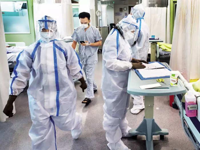 कोरोना मरीजों की लगातार बढ़ती संख्या