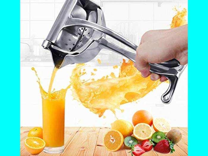 घर पर इन Juicers से निकालें ताजा Vitamin C वाले फ्रूट जूस, मिल रही 50% की छूट