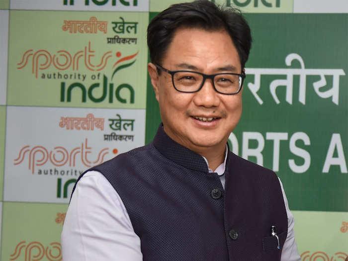 Kiren Rijiju COVID-19 Positive: खेल मंत्री किरण रिजिजू को हुआ कोरोना वायरस, बोले, 'बिलकुल ठीक हैं'