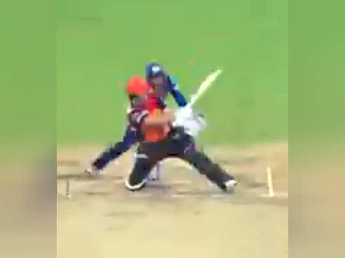 Jonny Bairstow Hit-Wicket