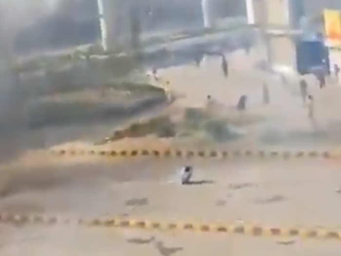 लाहौर में हिंसा