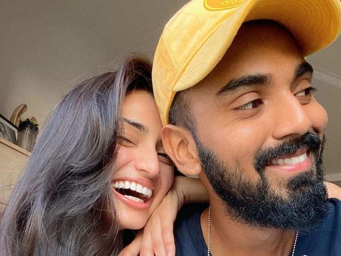 अथिया शेट्टी और केएल राहुल