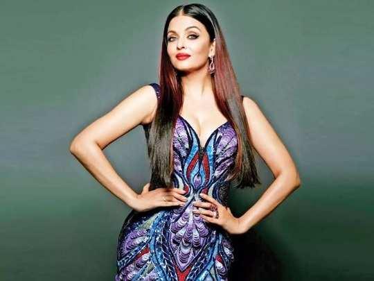 bollywood actress aishwarya rai bachchan wore black color bodycon gown in akash ambani and shloka mehta engagement party in marathi