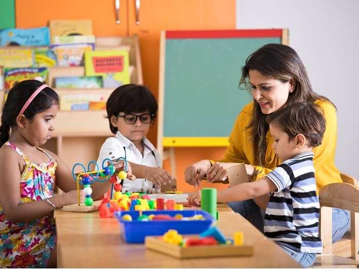 Teachers With Children