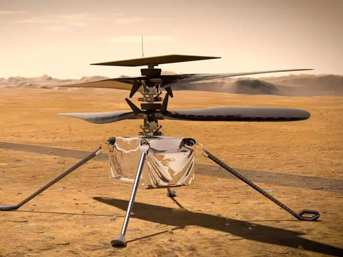 nasa first flight on mars: NASA mars mission मंगळ ग्रहावर आज नासाचे  हेलिकॉप्टर करणार उड्डाण; पाहा लाइव्ह - nasa to attempt first controlled  flight on mars watch live | Maharashtra Times
