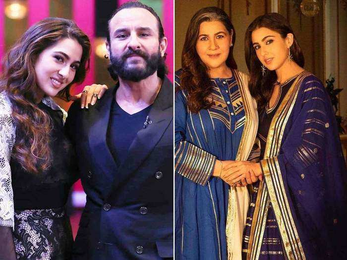 sara ali khan expresses feelings over the divorce of saif ali khan and amrita singh in marathi