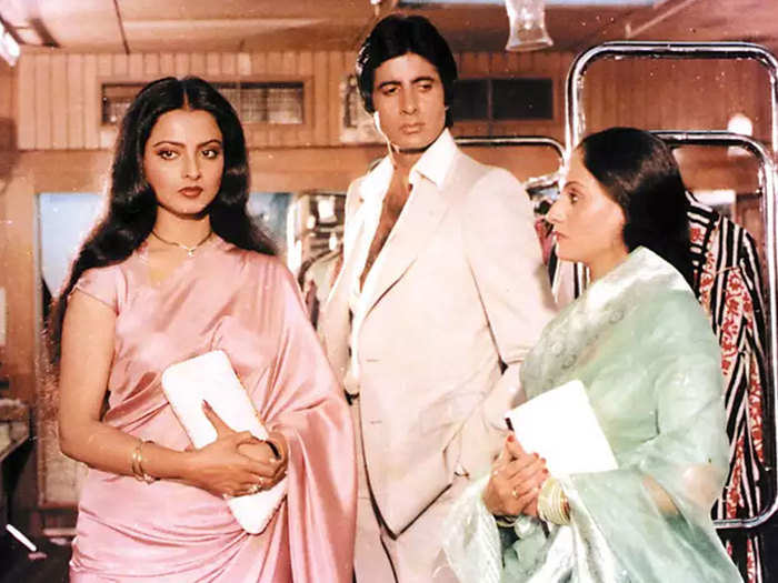 this is how jaya bachchan reacted to husband amitabh bachchan and rekha link up rumours