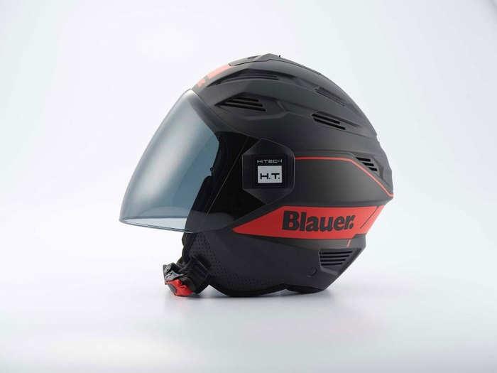 steelbird blauer helmet