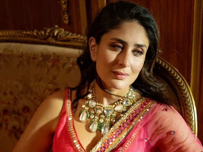 kareena kapoor royal look in rahul mishra lehenga