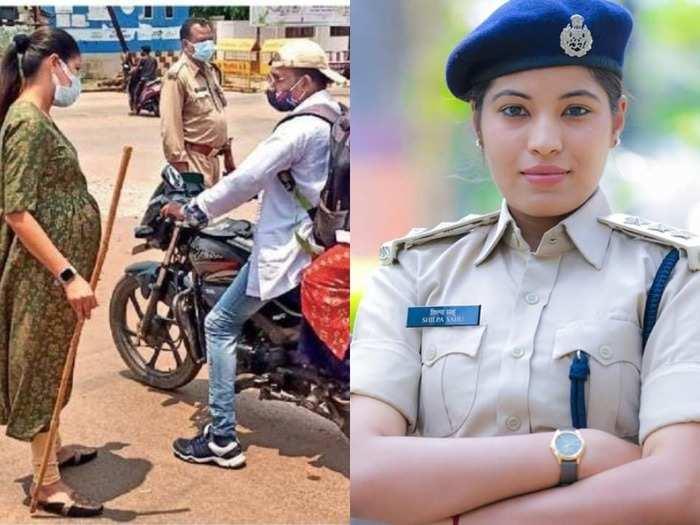 pregnant dsp shilpa sahu on duty : five months pregnant dsp shilpa sahu performed duty during corona period in dantewada