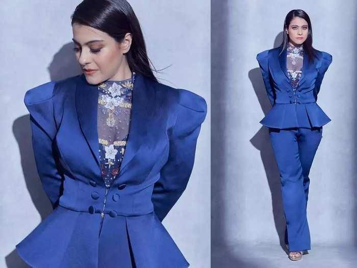 bollywood actress kajol devgan reveals reason why it took many years to consider herself beautiful in marathi