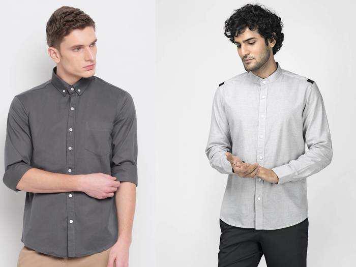 फॉर्मल हो या कैजुअल हर आउटफिट के साथ बेस्ट रहेंगे यह Cotton Slim Fit Shirt