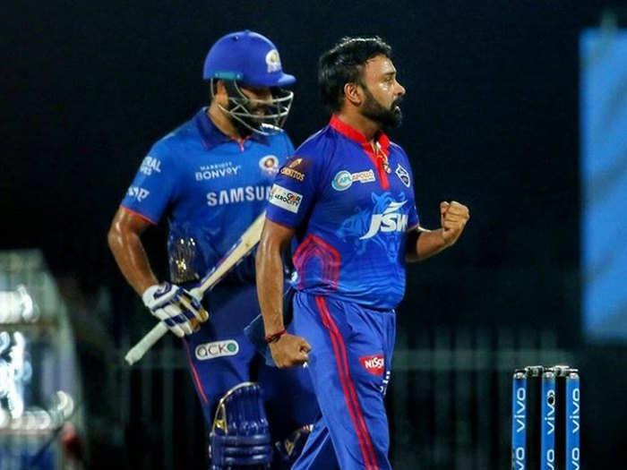 DC vs MI Highlights: अमित मिश्रा और शिखर धवन का कमाल, दिल्ली कैपिटल्स ने लगातार 5 हार के बाद मुंबई से जीता पहला मैच