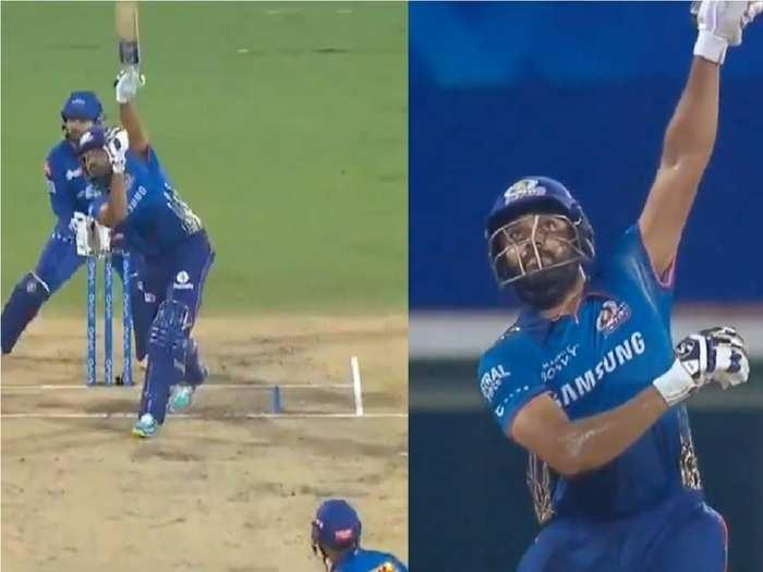 Rohit Sharma vs DC in IPL 2021