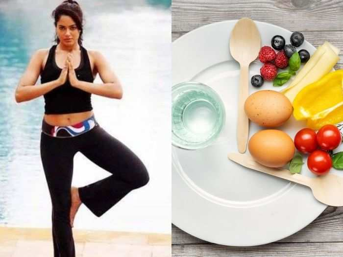 sameera reddy achieved her fitness target by intermittent fasting share her diet health tips