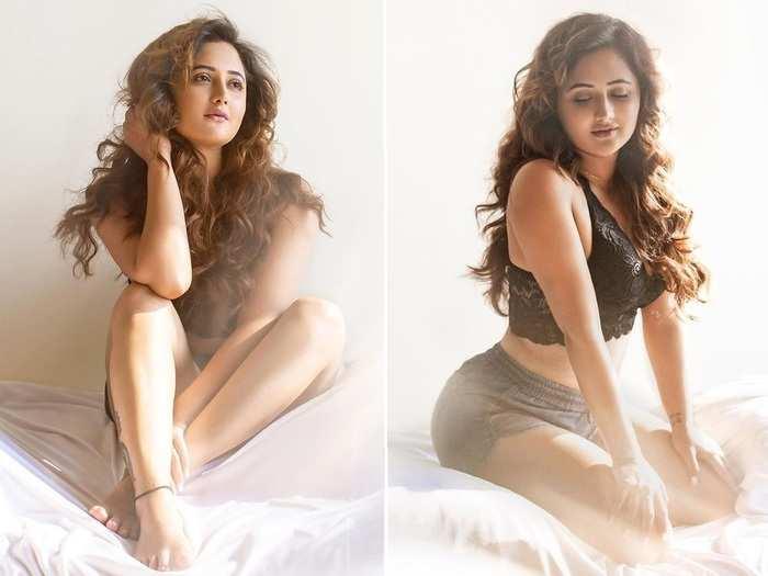rashami desai bedroom photoshoot in sleepwear goes viral monalisa srishty rode calls it fire