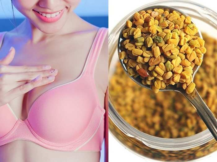health benefits of fenugreek or methi seeds for women increases breast size boost boost testosterone