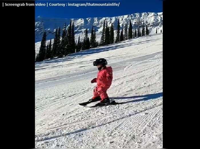 Amazing Skier