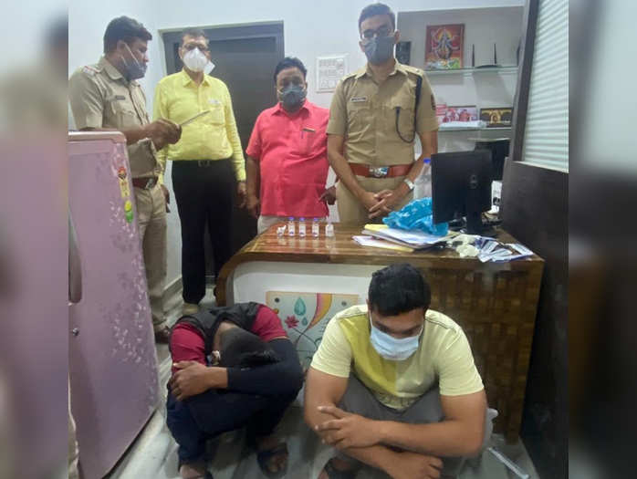 covid update two arrested for remdesivir black marketing in bhusawal