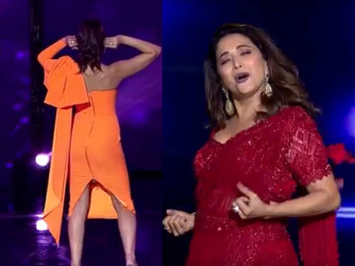 Nora fatehi aur Madhuri dixit nene amazing performances