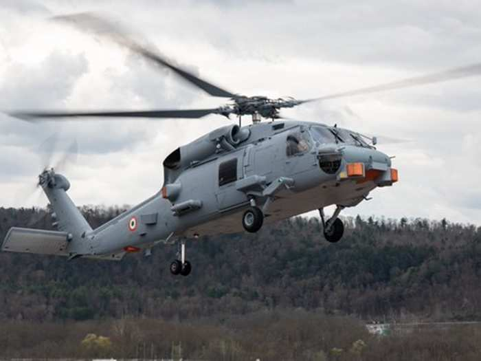 indian navy mh-60 romeo begins flight trials in us, sikorsky sh-60 seahawk chopper delivery likely in july