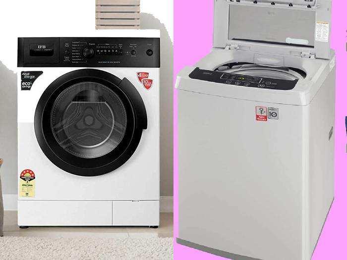 Washing Machine : इस्तेमाल में आसान और किफायती वॉशिंग मशीन, इनमें बिजली-पानी का खर्च होता है कम