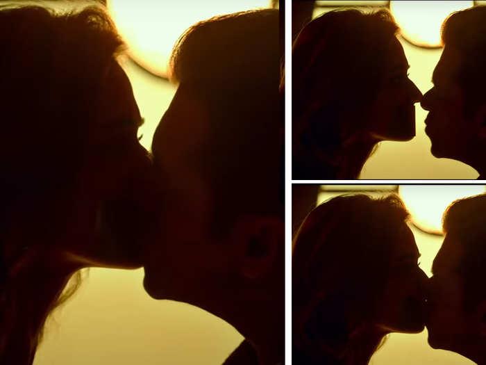 Salman khan Disha patani Kissing Scene