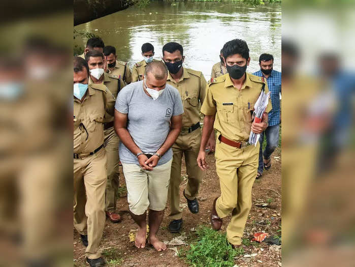 Kochi: Police investigate with accused Sanu Mohan, allegedly involved in the mur...