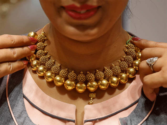 gold rate today in india: gold price falls rs 168, silver gains rs 238 today