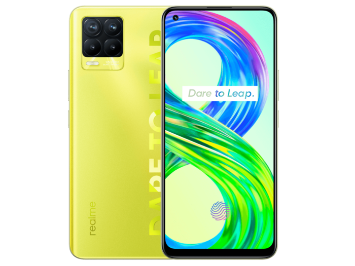 Realme 8 Pro Illuminating Yellow