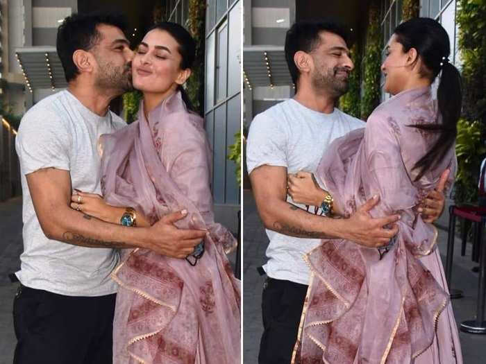 pavitra punia birthday celebration photos eijaz khan khan surprises lady love with luxury watch as special gift