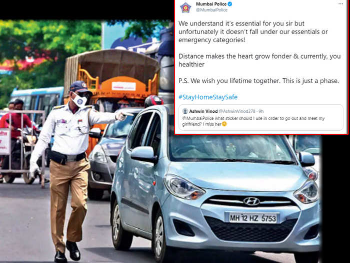 Mumbai Police Reply