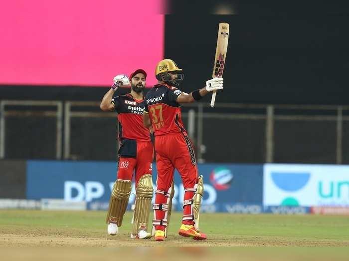 Virat Kohli and Devdutt Padikkal IPL 2021