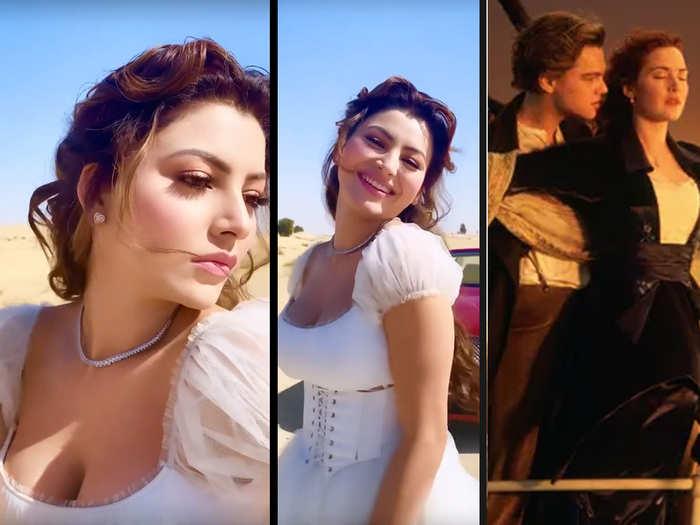Urvashi Rautela dances to titanic song