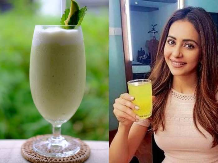rakul preet singh suggests a healthy drink to beat the summer heat