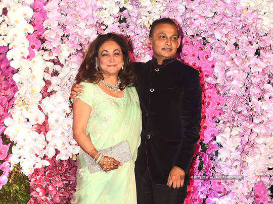 love story of anil ambani and tina munim in marathi