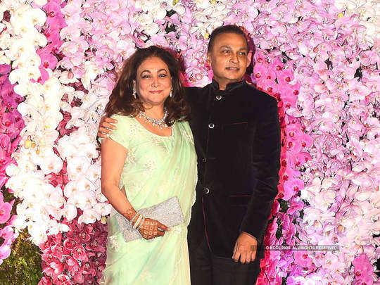 love story of anil ambani and tina munim in marathi