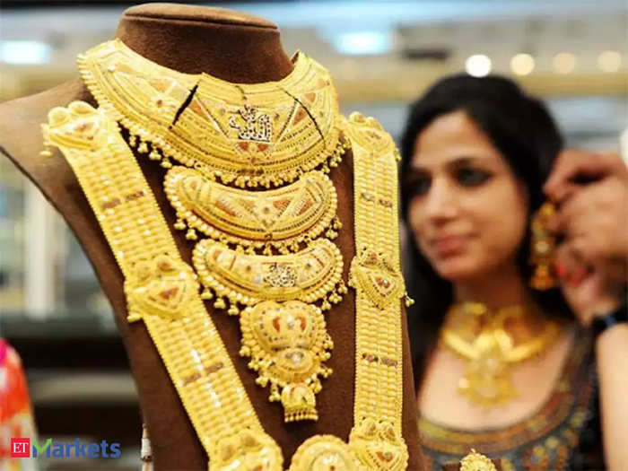 gold rate today in india: gold price falls marginally, silver declines rs 909