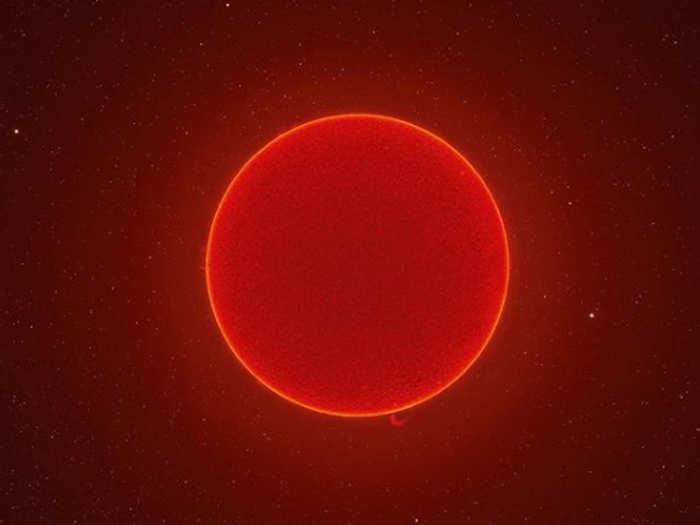 सूरज की तस्वीर (फोटो: इंस्टाग्राम Andrew McCarthy)