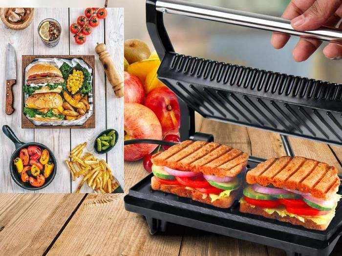 Sandwich Makers : झटपट बनाएं स्वादिष्ट और कुरकुरे सैंडविच, भारी डिस्काउंट पर खरीदें ये Sandwich Maker