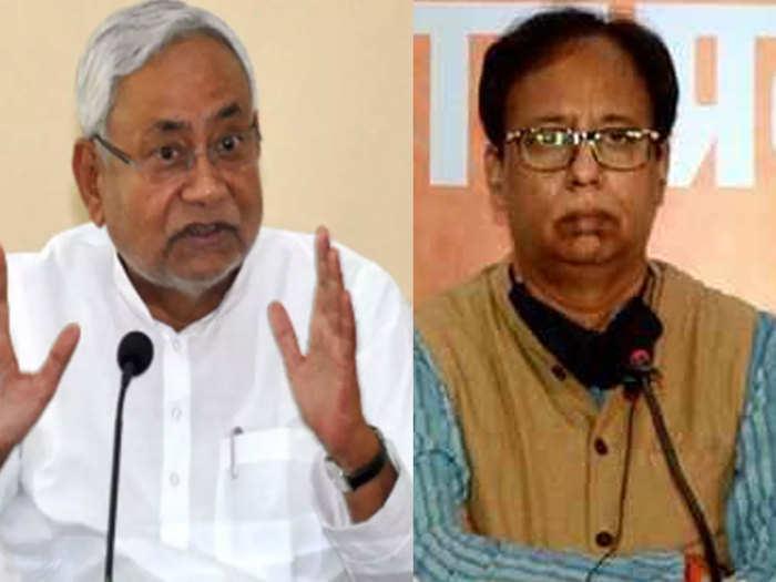 has sanjay jaiswal alone after comment night curfew targets cm nitish kumar bjp silence jdu retaliates