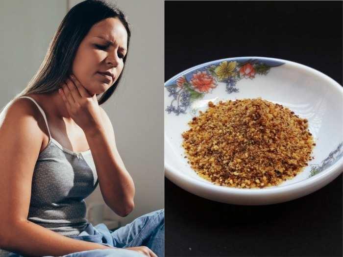 ayurvedic herb powder to increase immunity and treat sore throat watch recipe video