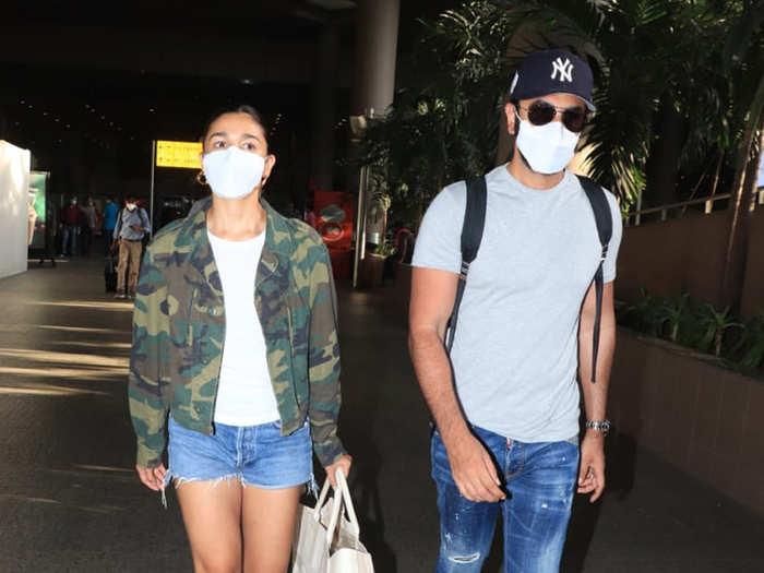 ranbir kapoor and alia bhatt returns from maldives vacation see photos