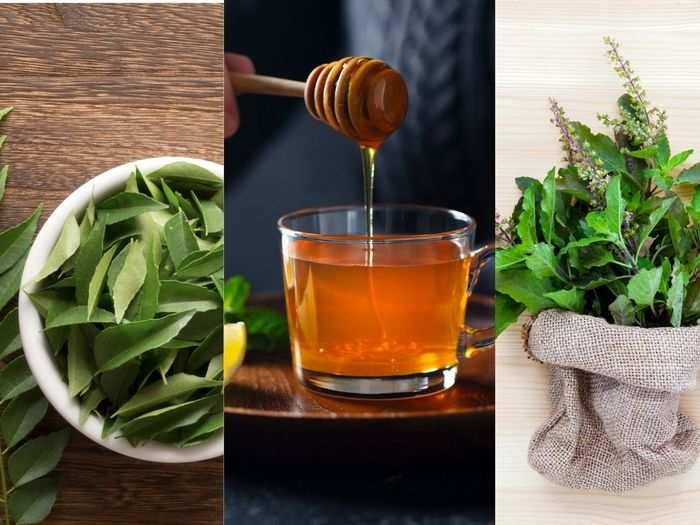 curry leaves tulsi or honey paste helps in building immunity to fight with covid know simple recipe