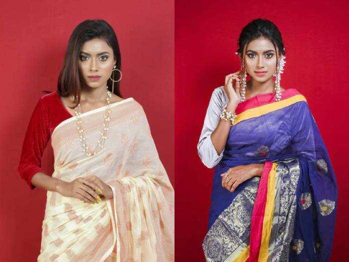 ट्रेडिशनल लुक वाली खूबसूरत अट्रैक्टिव Saree की रेंज सिर्फ 1,099 रुपए से शुरू