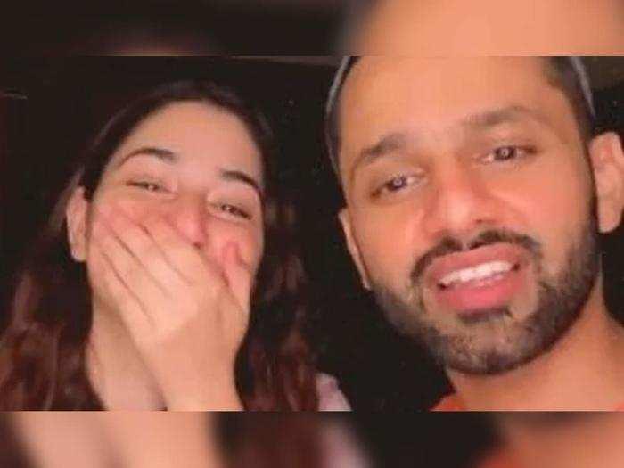 Disha Parmar And Rahul Vaidya