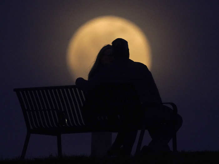 breathtaking images of first supermoon of 2021mages