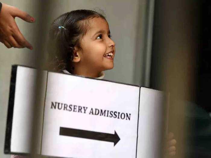nursery admission