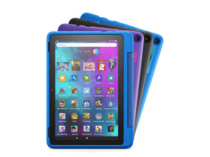Amazon unveils new Fire tablets for kids