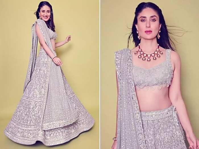 kareena kapoor khan trolled for white colour wedding dress designed by galia lahav in marathi